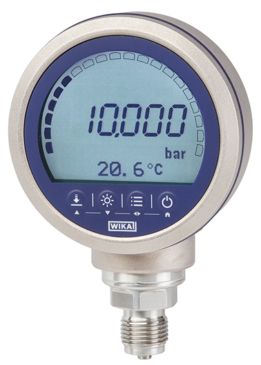 New precision digital pressure gauge with enhanced performance spectrum
